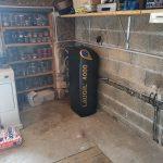 pose adoucisseur d'eau dans garage attenant maison Michel Boucau Climatisation