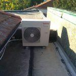 installation groupe exterieure maison en rénovation Michel Boucau Climatisation